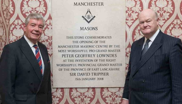 Freemasons unveil new Manchester Masonic Centre