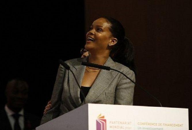 Rihanna visited Senegal anyway