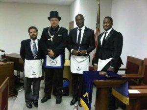 Freemasonry in Benin