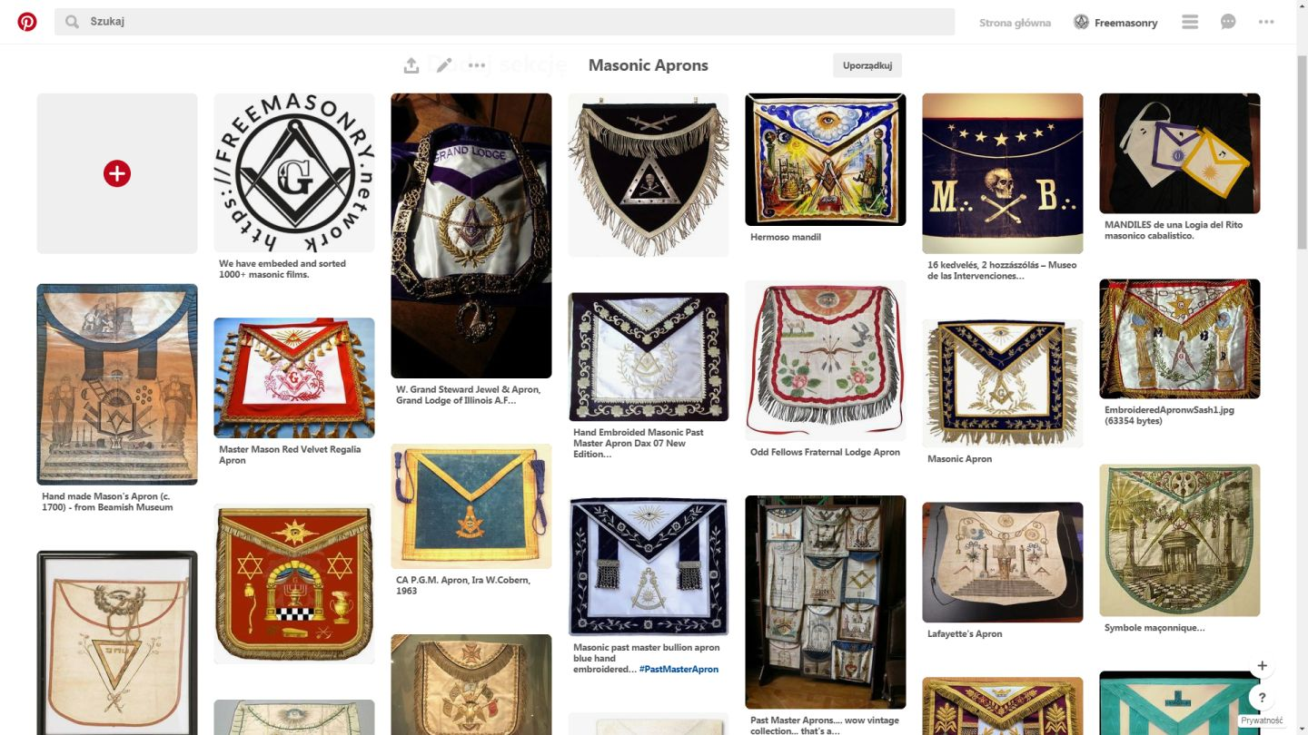 Masonic Aprons Gallery