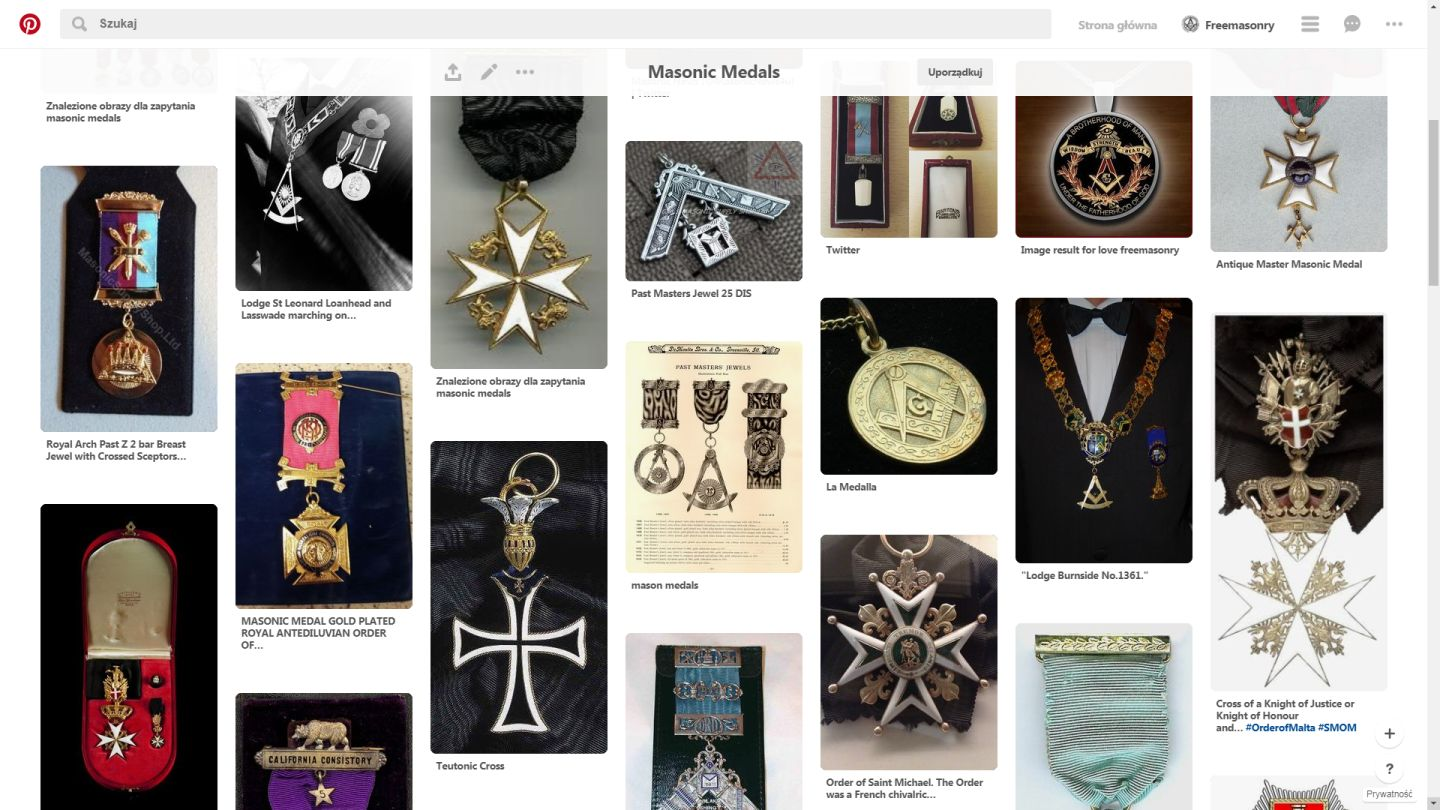 Masonic Medals Gallery
