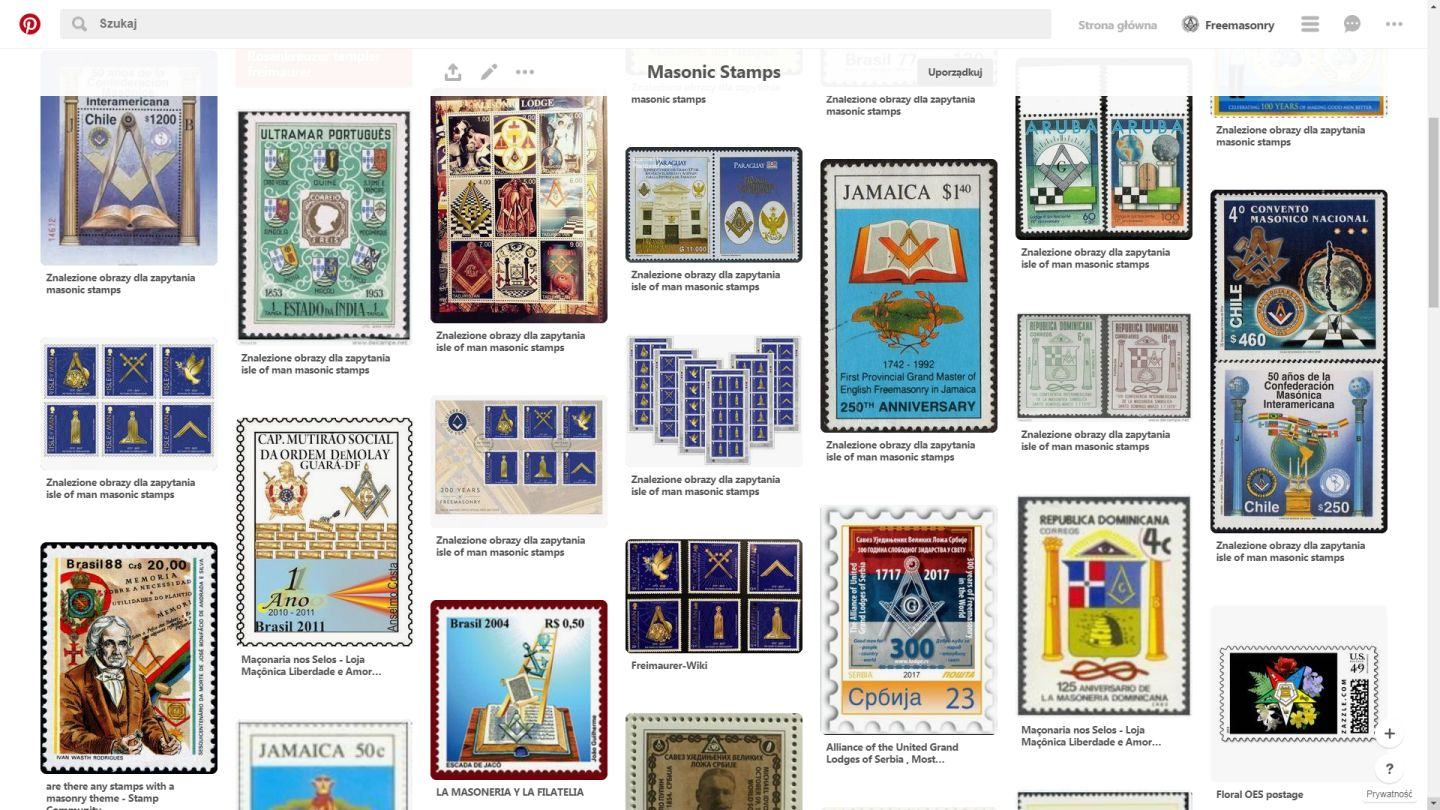 Masonic Postage Stamps
