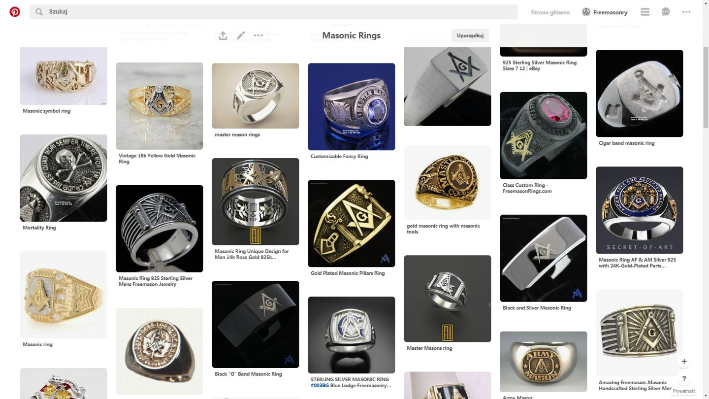 Masonic Rings Gallery