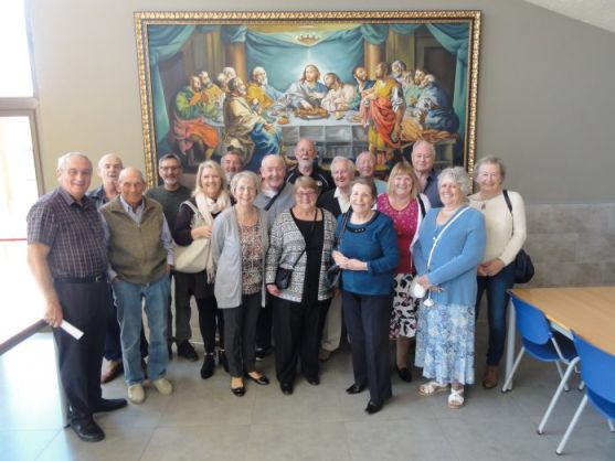 Freemasons visit the hospice in Gandia