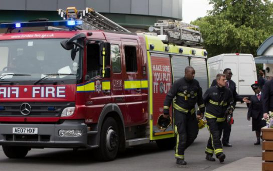 Freemasons' symbol will appear on fire engines