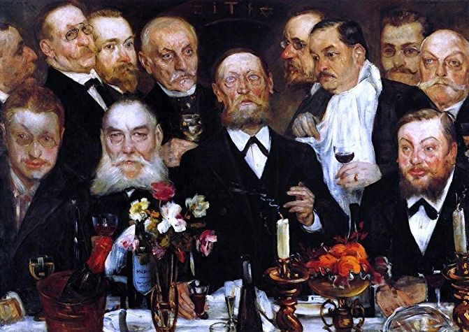 Lovis Corinth Freemasons