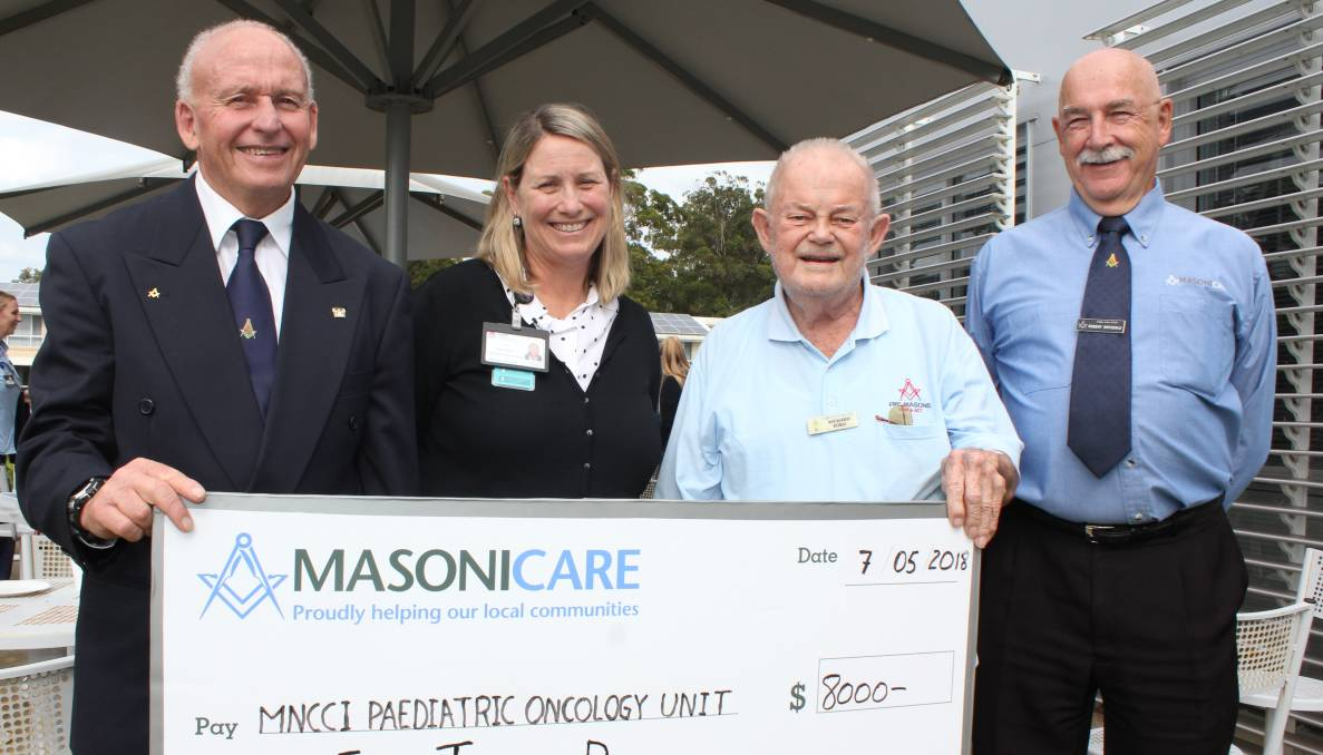 Hastings Macleay Freemasons fund cancer research