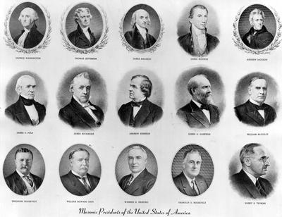 The U.S. Presidents who were Grand Masters