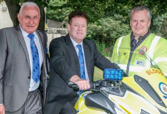 Furness Freemasons pay tribute to blood bikers