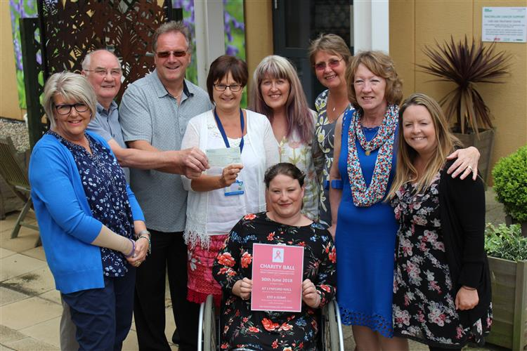 Freemasons in Hunstanton donate to breast care unit