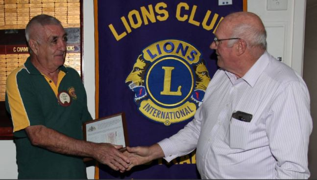 Freemasons donate over $10,000 to Tathra Lions Club