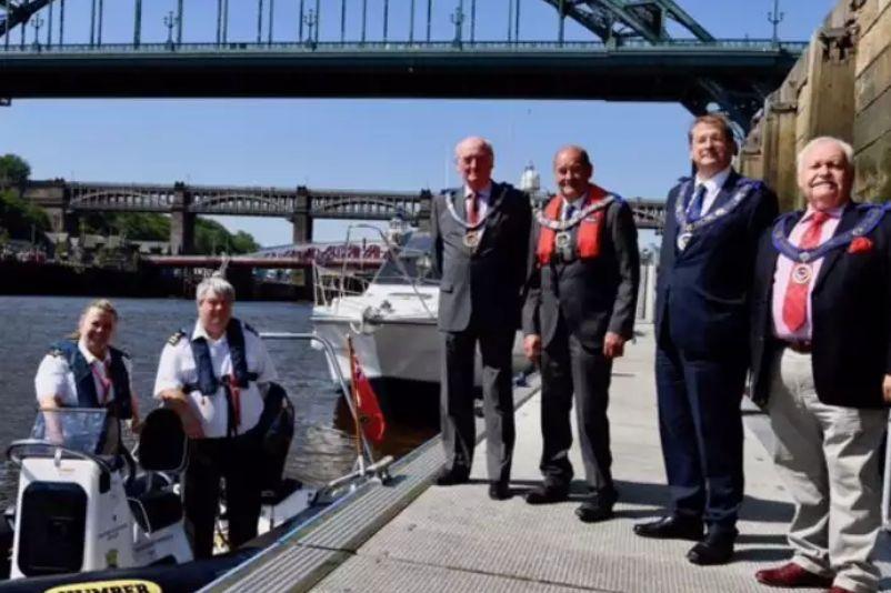 A boat called 'Northumberland Freemason'