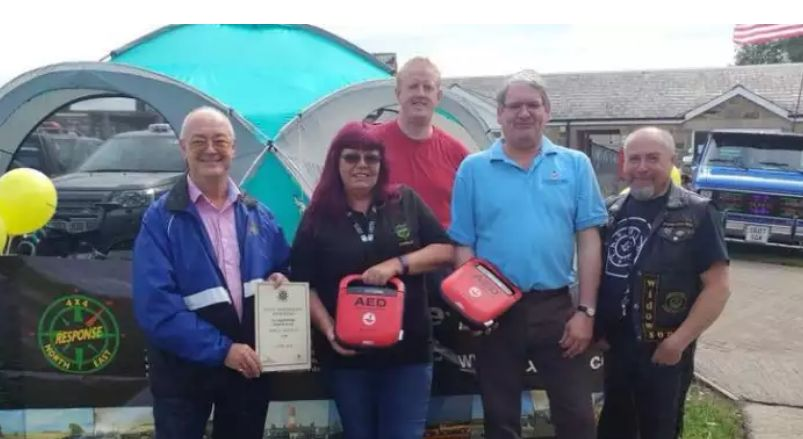UK: Donations fund life-saving equipment for volunteer 4x4 drivers