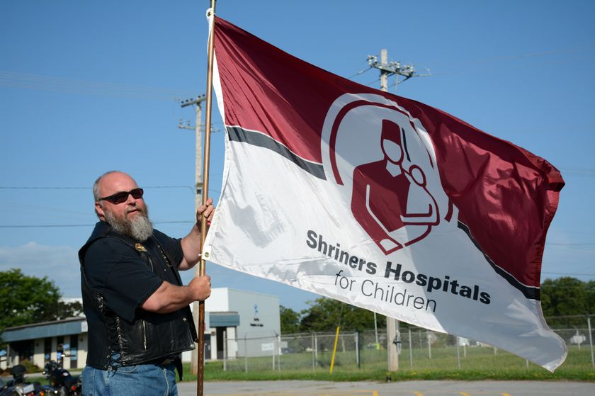 US: Bikers ride for a special cause