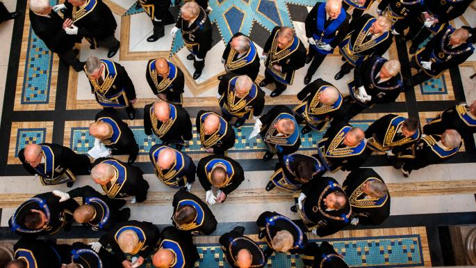 Freemasons to admit women — if they first joined as men