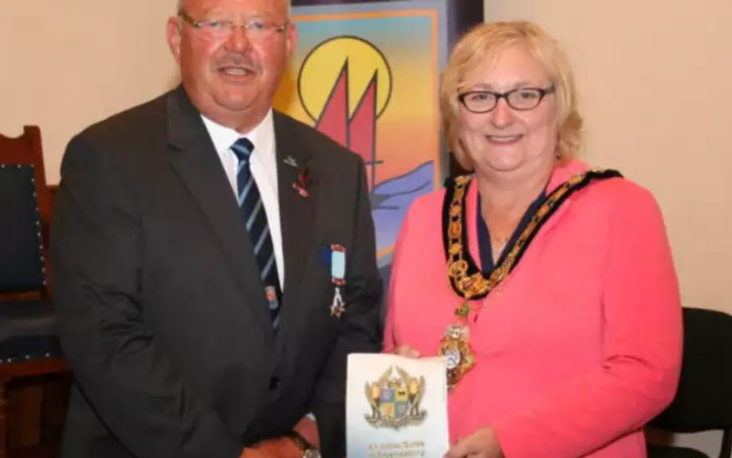 Mayor meets with the Freemasons