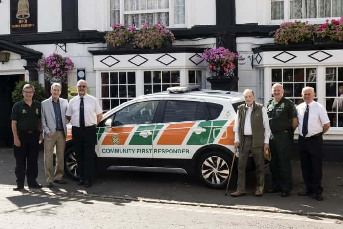 England: Bucks Freemasons donate first response vehicle to Winslow community