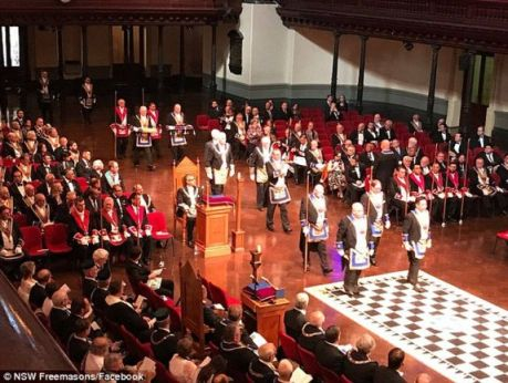 Daily Mail Australia: Freemasons' Threat over Transgender Policy