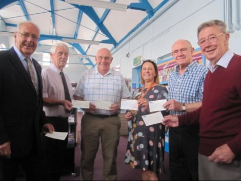 England/Exmouth: Freemasons cash helps library fund new community space
