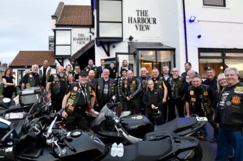 England: Freemasons on the road for some famed fish and chips