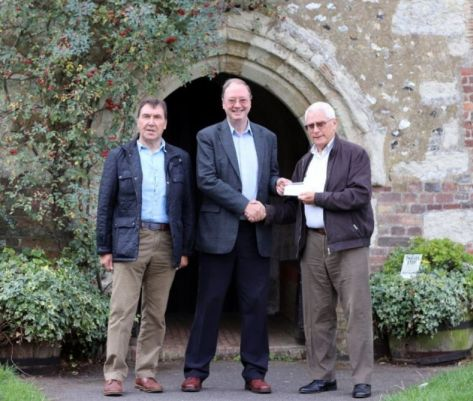 Freemasons help church