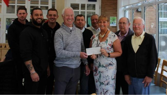 England: Freemasons in Newton Aycliffe raise funds for dementia cafe