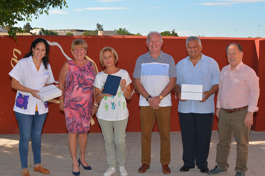 Spain: Local Freemasons donate €2200 to AFA Torrevieja