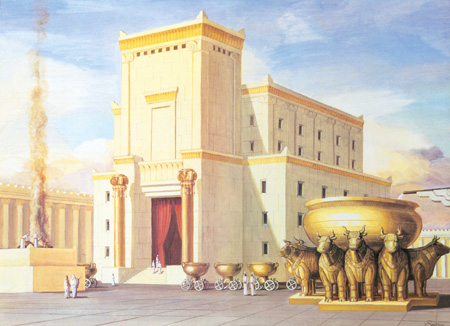 The Real Temple Allegory (Whence came you?)