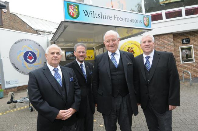 England: Annual Wiltshire Freemasons meeting at Salisbury City Hall