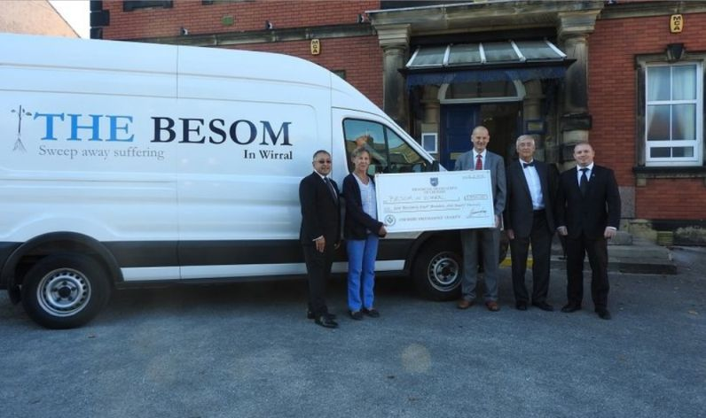England - Wirral Freemasons support Besom
