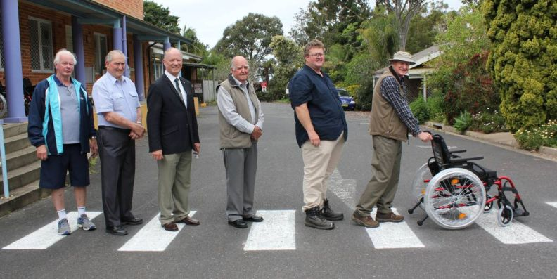 Australia - Nambucca Freemasons wheel into action for Mackville Hospital