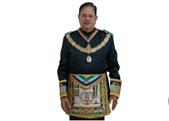A new Grand Master of Grand Lodge of India