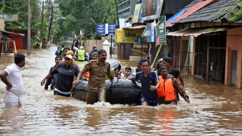 £20,000 for Kerala flood victims