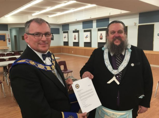 Northland Masons offer bursary for post-secondary
