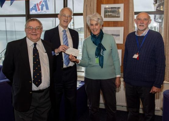 England - Sailing charity gets a boost from Doric Masonic Lodge