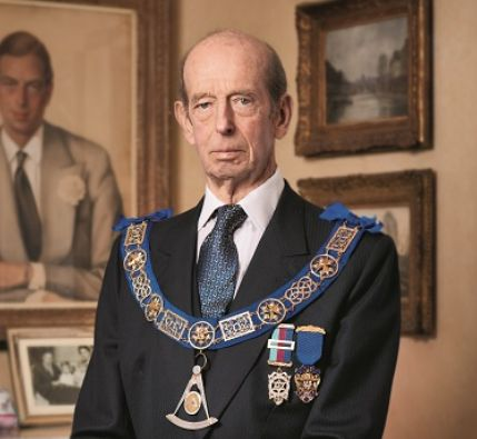 The Duke of Kent celebrates 55 years of being a Freemason