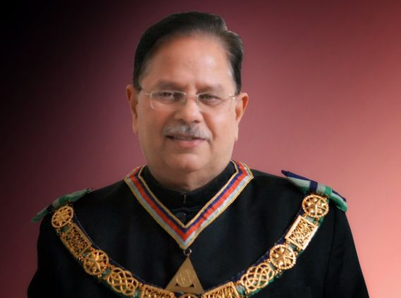 Grand of Master of Grand Lodge of India: Freemasonry is a way of Life