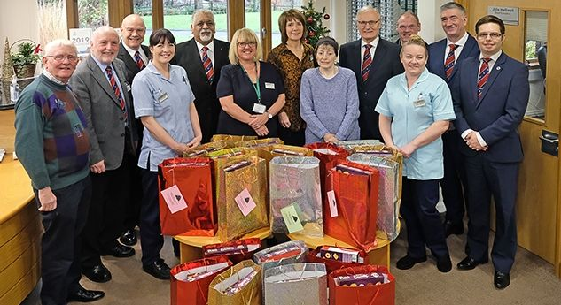 England - Hospice spreads festive goodwill with the Freemasons