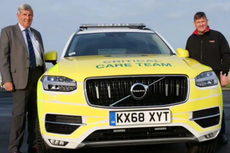 England - South Tyneside Freemasons help fund new vehicle for life-saving charity