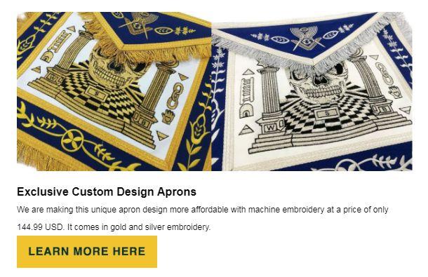 Exclusive Aprons at BrickMasons