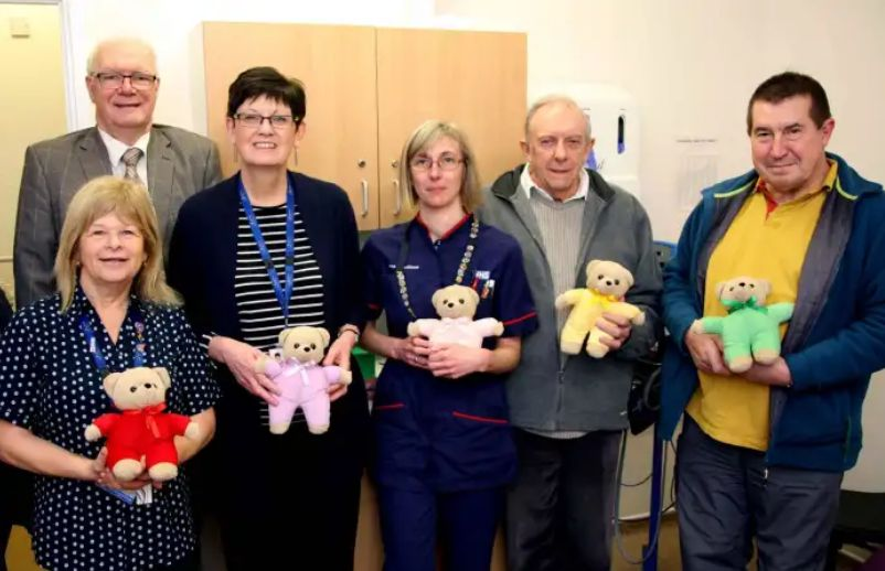 England - Teddy bears to help ease the pain of a visit to Bridlington Hospital