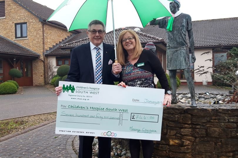 England - Hundreds donated to Little Bridge House thanks to generous Freemasons