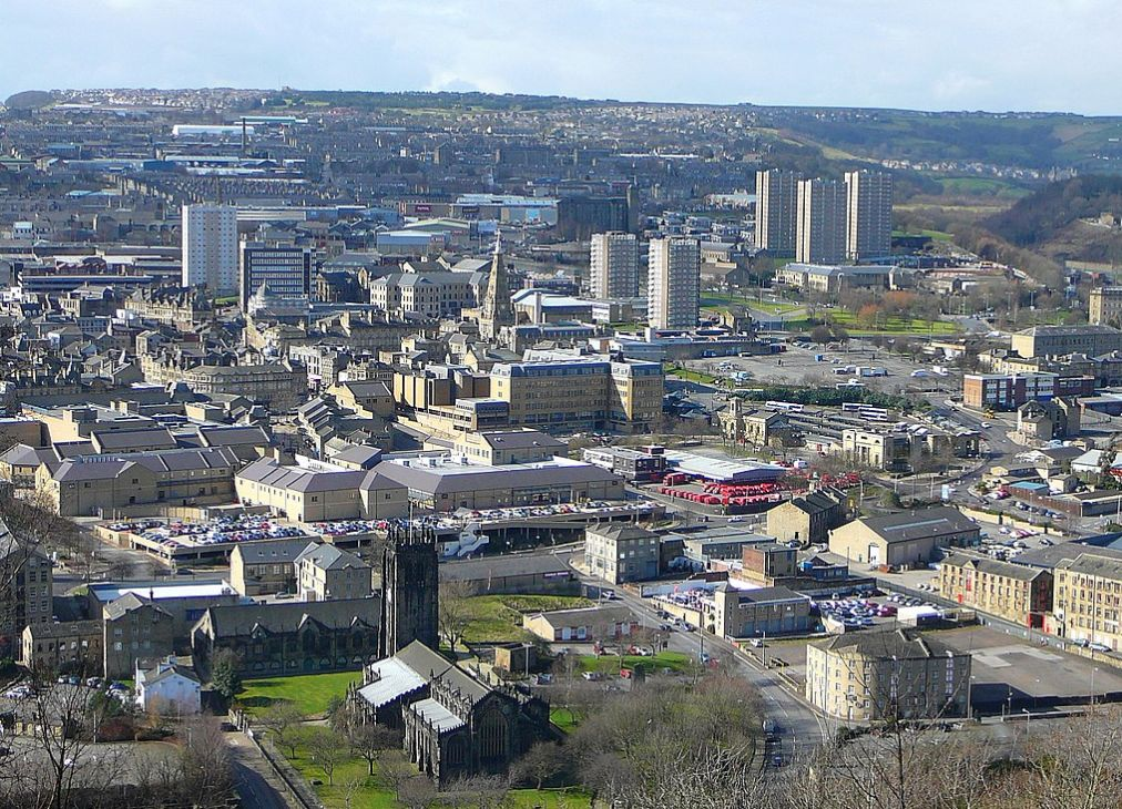 Halifax, England - Freemasons grants to groups