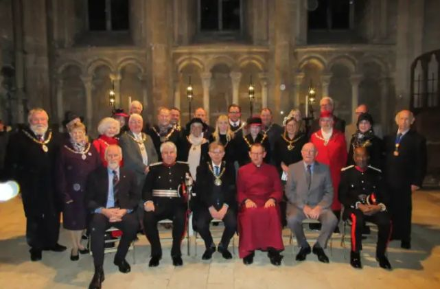England - Freemasons raise thousands for Peterborough's homeless