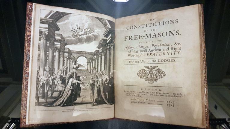 Decoded: Freemasonry's Illustrated Rulebooks