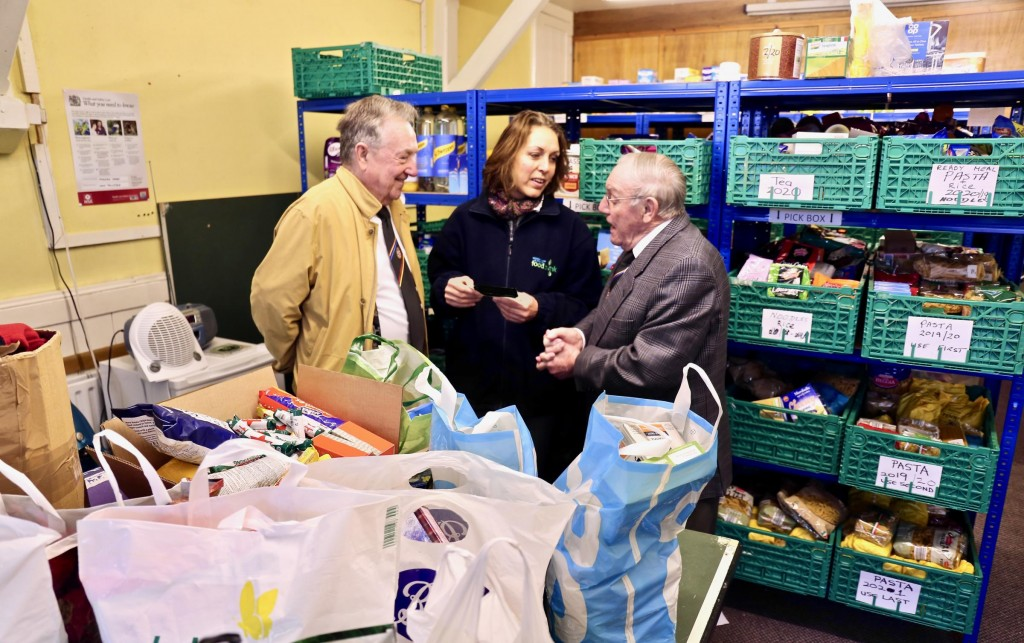 England - Eleven food banks boosted by Freemasons' charity