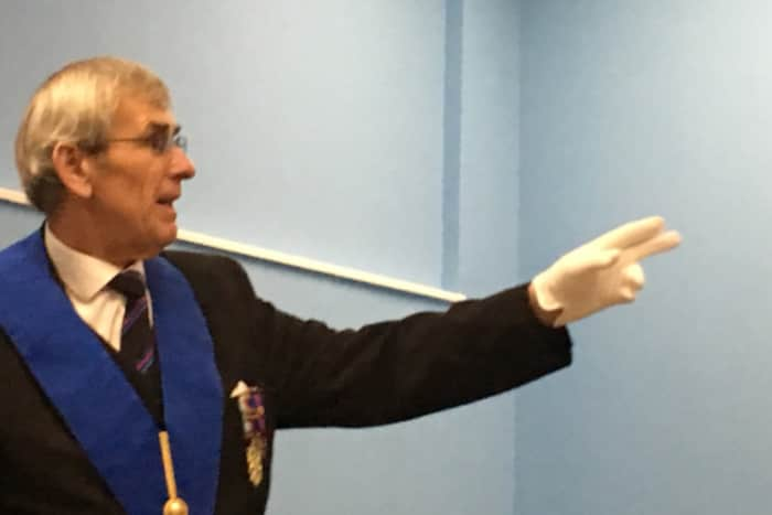 England - A charitable talk for Freemasons