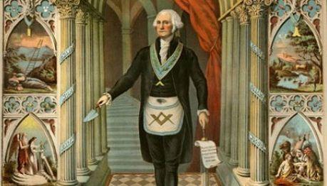 George Washington's Masonic Apron at Mount Vernon This Week