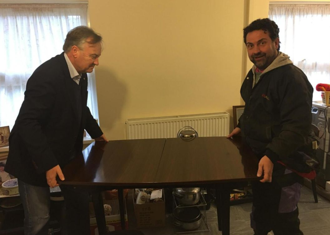 England - Freemasons help Eltham pensioner move home after burglary
