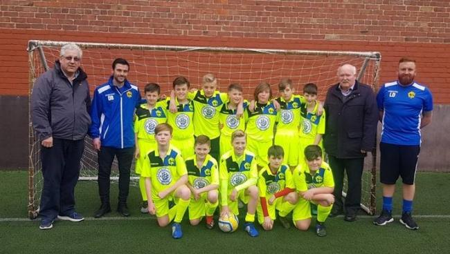England - Birkenhead Youth Club FC buys new kit after Freemasons' cash boost